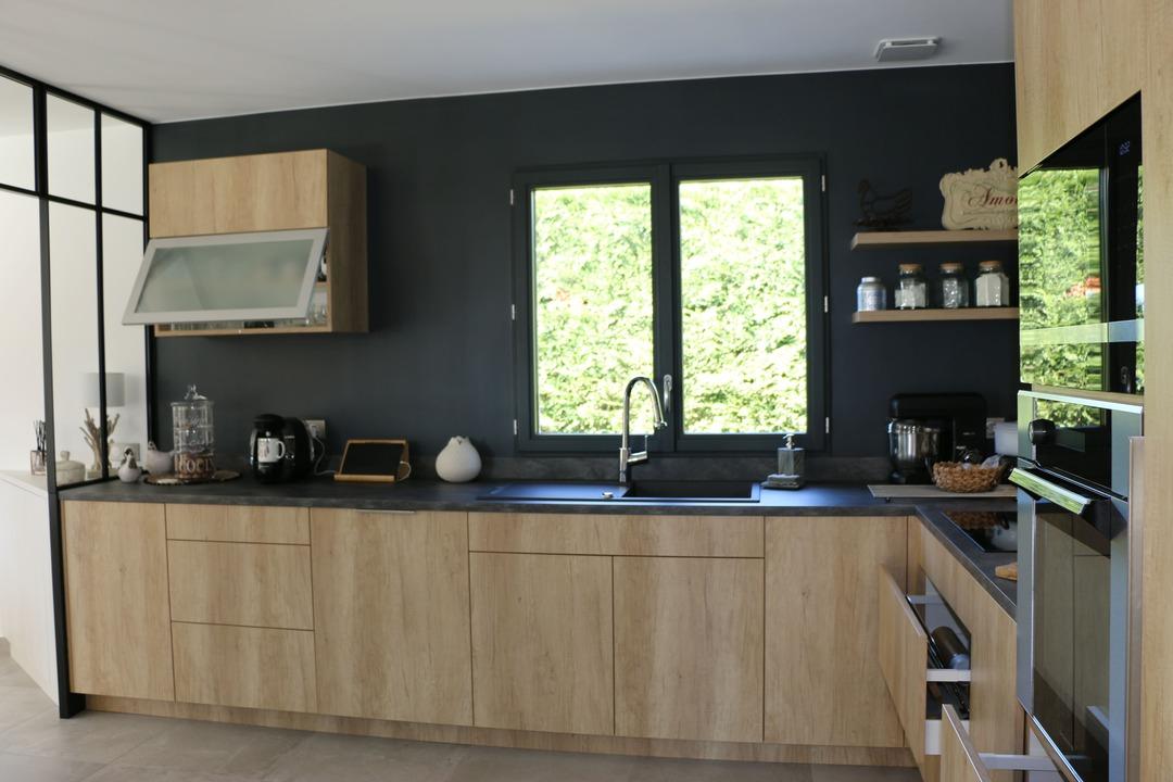 Rénovation d'une cuisine avec extension06