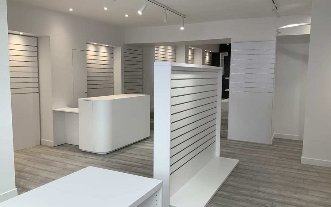 Rénovation d'une boutique de prêt à porter iséroise