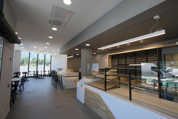 Création d'une boulangerie à Frontenex